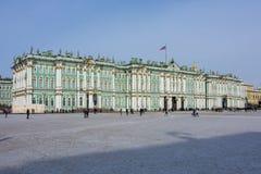 Museu de eremitério do palácio do inverno no centro de St Petersburg, Rússia fotos de stock