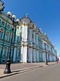 Museu de eremitério em St Petersburg com suas decoração e cores originais Imagem de Stock