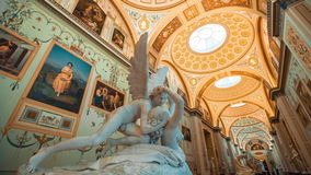 Museu de eremitério St Petersburg video estoque