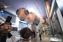 Museu de espaço VVC Moscovo, Rússia Imagem de Stock