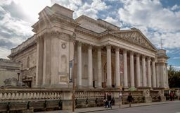 Museu de FitzWilliam para as antiguidade e belas artes em Cambridge imagens de stock