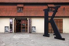Museu de Franz Kafka, Praga, República Checa fotos de stock