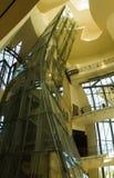 Museu de Guggenheim, Bilbao, país de Basc, Espanha, vista interna Imagens de Stock