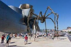 Museu de Guggenheim em Bilbao, Spain Fotos de Stock