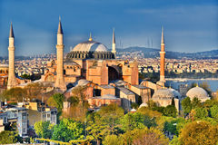 Museu de Hagia Sophia & x28; Ayasofya Muzesi& x29; em Istambul, Turquia fotos de stock