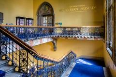 Museu de Hunterian, Glasgow - Escócia imagem de stock royalty free