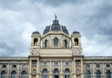 Museu de Kunsthistorisches em Viena fotografia de stock royalty free