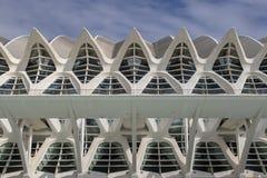 Museu de les Ciències PrÃncipe Felipe museum, stad av konster och vetenskaper Santiago Calatrava i Valencia arkivfoto