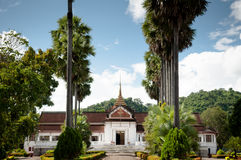 Museu de Luang Prabang Royal Palace Imagem de Stock Royalty Free