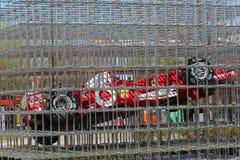 Museu de maranello do carro de Ferrari Fotografia de Stock Royalty Free