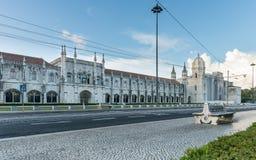 Museu De Marinha lub marynarki wojennej muzeum w Lisbon, Portugalia, Europa obraz stock