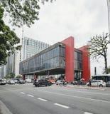 Museu de MASP, SP Brasil de Sao Paulo fotografia de stock