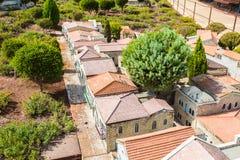 Museu de miniaturas de Israel imagem de stock royalty free