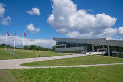 Museu de Moesgaard, Aarhus, Dinamarca Fotografia de Stock Royalty Free