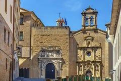 Museu de Navarra, Pamplona, Espanha fotos de stock royalty free
