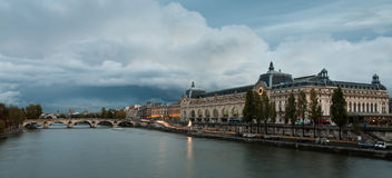 Museu de Orsay, Paris Imagem de Stock Royalty Free