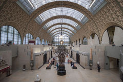 Museu de Orsay, Paris, França Foto de Stock Royalty Free