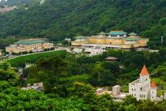 Museu de palácio nacional em Taipei, Taiwan Fotos de Stock Royalty Free