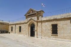 Museu de prisioneiros subterrâneos no Jerusalém fotos de stock