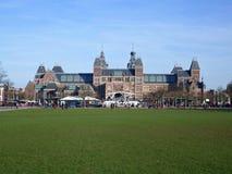 Museu de Rijks em Amsterdão Imagem de Stock Royalty Free
