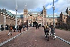 Museu de Rijksmuseum, Amsterdão, Países Baixos Foto de Stock