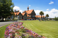 Museu de Rotorua, Nova Zelândia Imagens de Stock