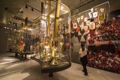 Museu de S C Internacional - Porto Alegre - Brasil Fotos de Stock Royalty Free