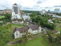 Museu de Sarawak em Kuching, Sarawak, Malásia Foto de Stock