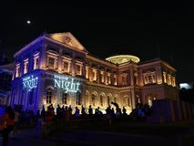Museu de Singapura fotos de stock