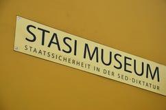 Museu de Stasi (Berlim) Fotografia de Stock