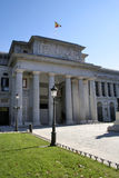 Museu del Prado Madrid. Home of some of the world's finest art Royalty Free Stock Photo
