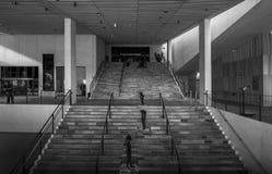 Museu Dinamarca interior Aarhus de Moesgaard Fotografia de Stock Royalty Free