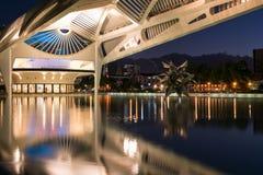 Museu do amanhã em Rio de janeiro na noite Imagens de Stock Royalty Free
