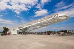 Museu do Amanha de janeiro Ρίο Στοκ εικόνες με δικαίωμα ελεύθερης χρήσης