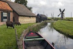 Museu do ar livre de Zuiderzee - Países Baixos Fotos de Stock Royalty Free