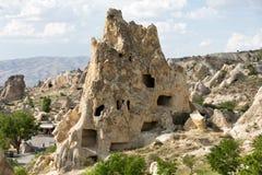 Museu do ar livre em Goreme Cappadocia, Fotos de Stock