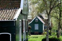 Museu do ar livre o Zaanse Schans Fotografia de Stock