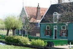 Museu do ar livre o Zaanse Schans Fotos de Stock