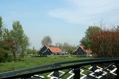 Museu do ar livre o Zaanse Schans Fotografia de Stock Royalty Free