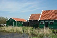 Museu do ar livre o Zaanse Schans Imagem de Stock Royalty Free