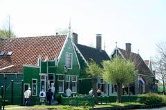 Museu do ar livre o Zaanse Schans Imagens de Stock Royalty Free