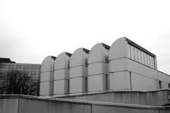 Museu do arquivo do Bauhaus, Berlin Germany, preto e branco Imagens de Stock