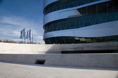 Museu do Benz de Mercedes de Estugarda Fotografia de Stock Royalty Free