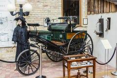 Museu do Benz, Ladenburg, Alemanha Fotografia de Stock Royalty Free