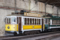 Museu do Carro Electrico Royalty-vrije Stock Foto's
