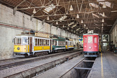 Museu do Carro Electrico Royalty Free Stock Images