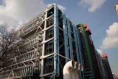 Museu do Centre Pompidou em Paris foto de stock