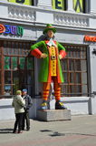 Museu do ` das ilusões a casa gigante do ` Fotografia de Stock