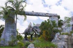 Museu do dinossauro Foto de Stock