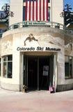 Museu do esqui de Colorado fotografia de stock